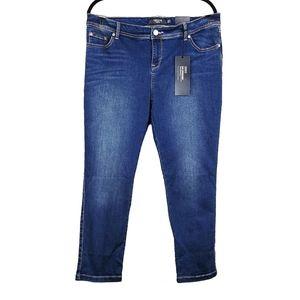 TORRID 4Luxe Stretch Skinny Denim Jeans 16XS